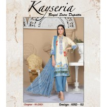 KEYSERIA BY THE G-M TEXTILES EMBROIDERED COLLECTION - 02