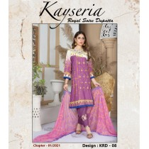 KEYSERIA BY THE G-M TEXTILES EMBROIDERED COLLECTION - 08