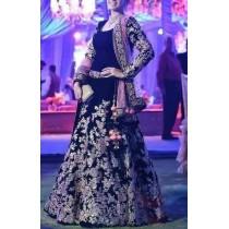 Zainab chottani chiffon bridal embroidery maxi