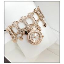 Fancy Bracelet design Quartz Ladies Watch HW-0280