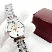 Rolex Ladies Fancy Stone Watch HW-041