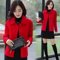 New Women's Coller Buttons Coat