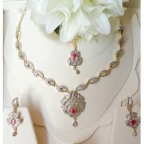 The Ayla Elegant Necklace Set OZ-0022