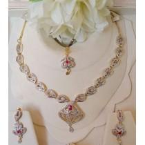 The Ayla Elegant Necklace Set OZ-0023