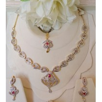 The Ayla Elegant Necklace Set OZ-0025