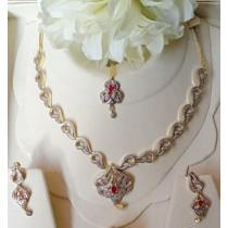 The Ayla Elegant Necklace Set OZ-0029