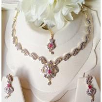 The Ayla Elegant Necklace Set OZ-0030